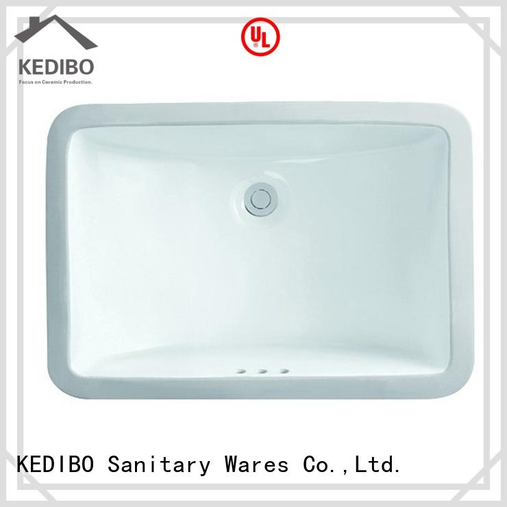 KEDIBO exquisite oval undermount bathroom sink at discount for hospital