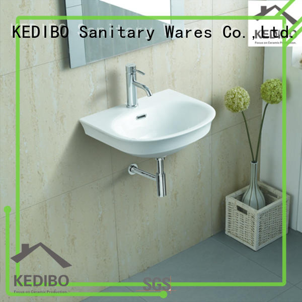 pratical wall hung basin installation wholesale for commercial hotel