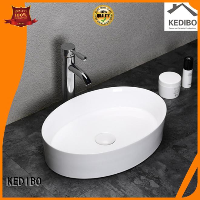 modern special mounting toilet wash basin design KEDIBO manufacture