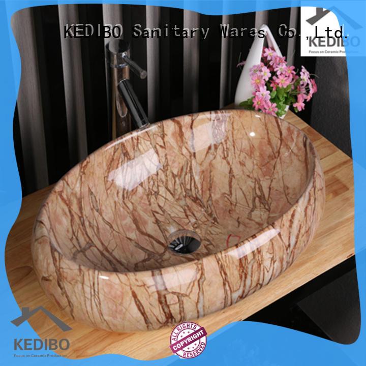 KEDIBO modern white sink OEM ODM for washroom