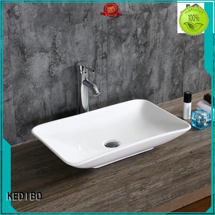 KEDIBO Brand semiembedded approved art basin vanity factory