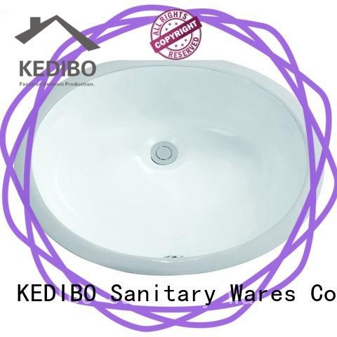 490x400 Oval Bathroom Undermounted Basin Sink 2-2010