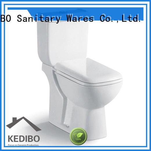 KEDIBO economical price two piece toilet wholesale for airport