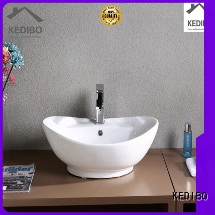toilet wash basin design approved square certificate KEDIBO Brand art basin