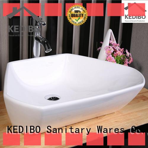 KEDIBO fashion rectangular drop in bathroom sinks exporter for super market