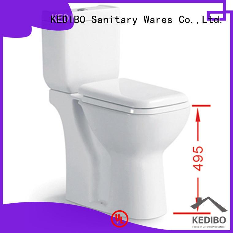 KEDIBO european 1 piece toilet factory price for coffee bar