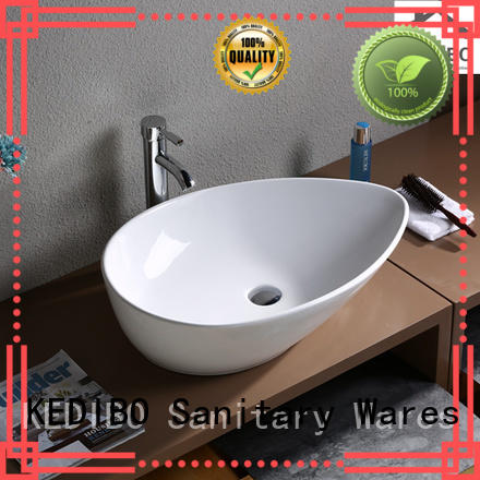 counter wash basin size slim for super market KEDIBO