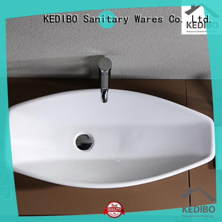 KEDIBO counter top wash basin order now for hotel