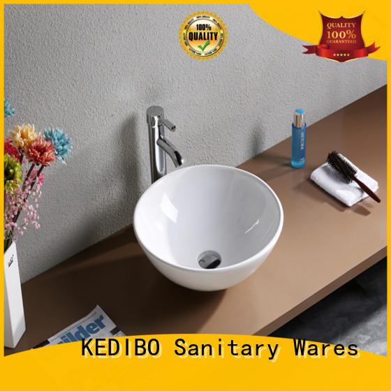 KEDIBO Brand finish modern thick toilet wash basin design washing