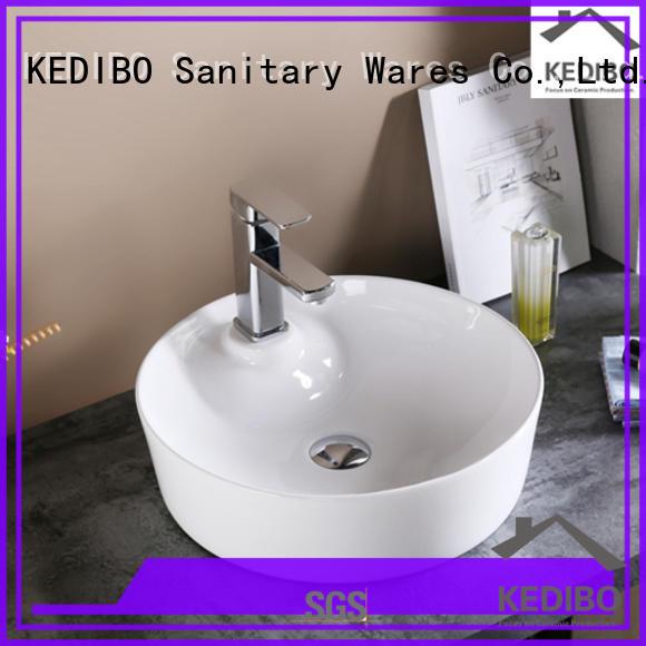 ceramic art basin for hotel KEDIBO