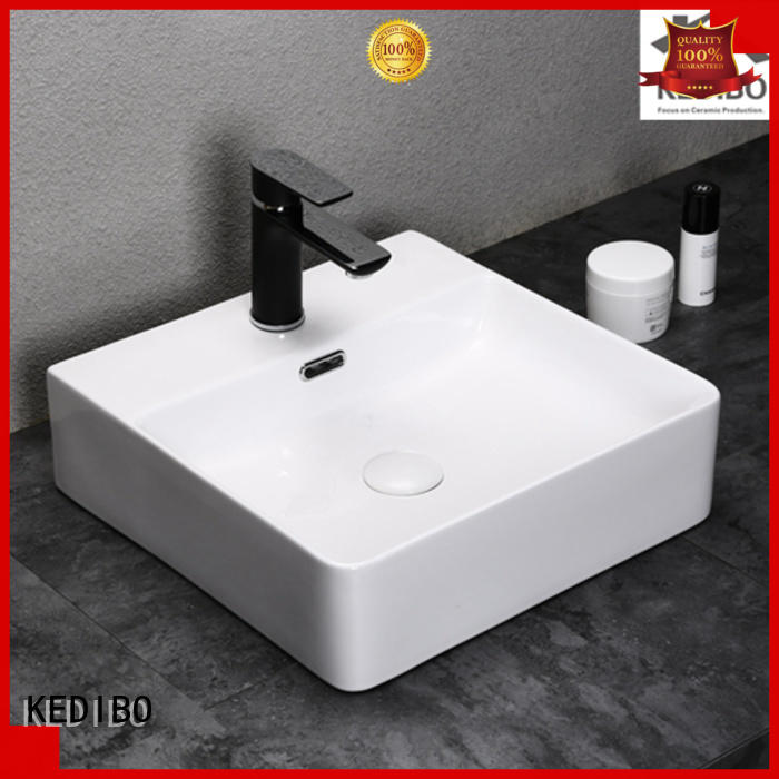 Wholesale size toilet wash basin design square KEDIBO Brand