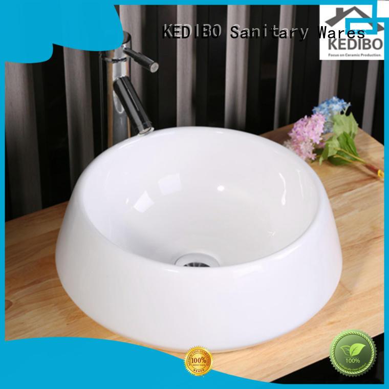 modern ce white art basin KEDIBO