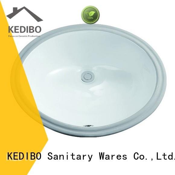 KEDIBO hot-sale oval undermount bathroom sink manufacturer for coffee bar