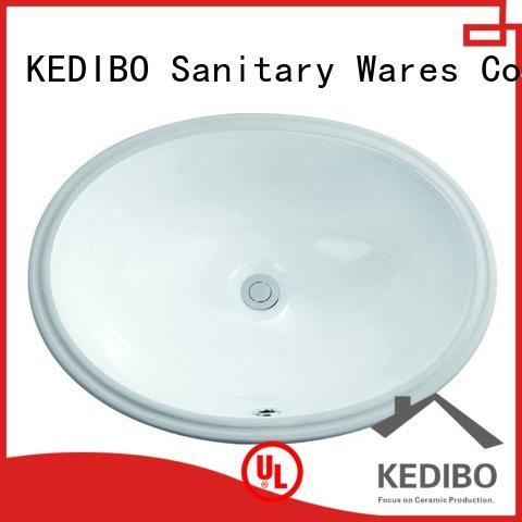 KEDIBO ceramic under counter basin free design for super market
