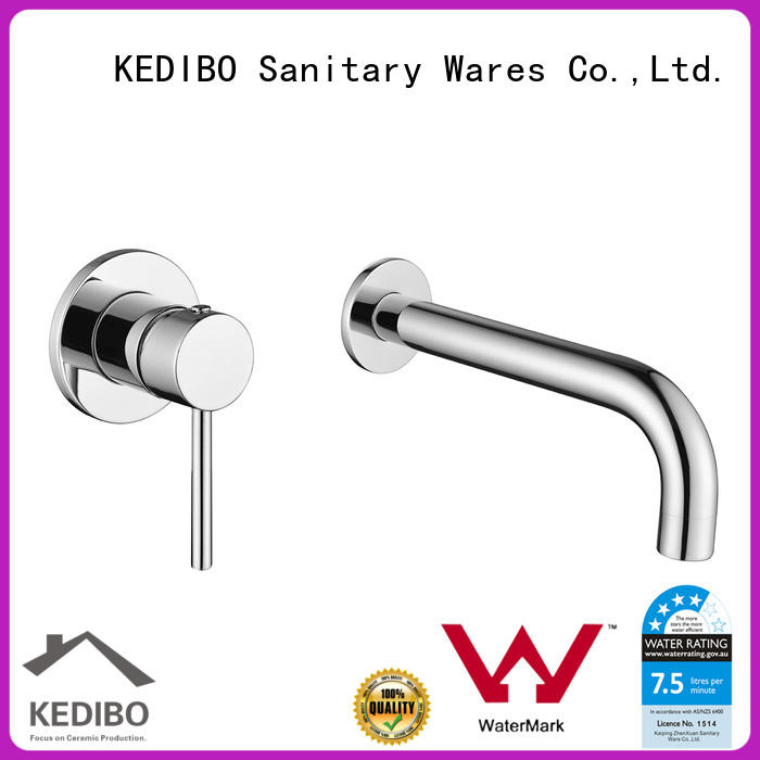 solid basin tap export for basin assembly
