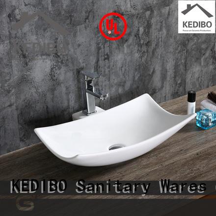 KEDIBO various design porcelain basin OEM ODM for hotel