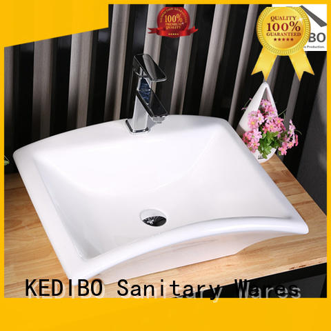 certificate long KEDIBO Brand toilet wash basin design factory