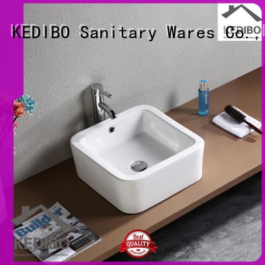 KEDIBO various design unique bathroom sinks exporter for shopping mall