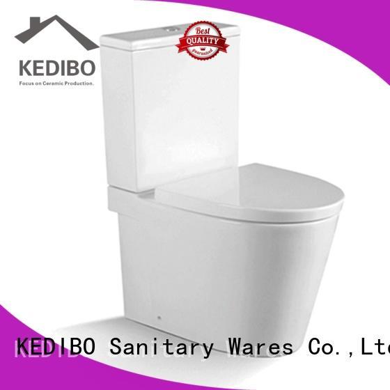 KEDIBO modern design 1 piece toilet factory price for public washroom