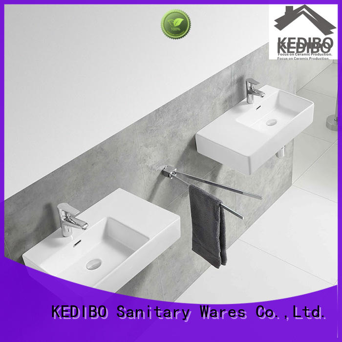 different style ceramic wall hung basin ceramic factory price for washroom