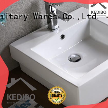 KEDIBO different types counter wash basin size great deal for washroom