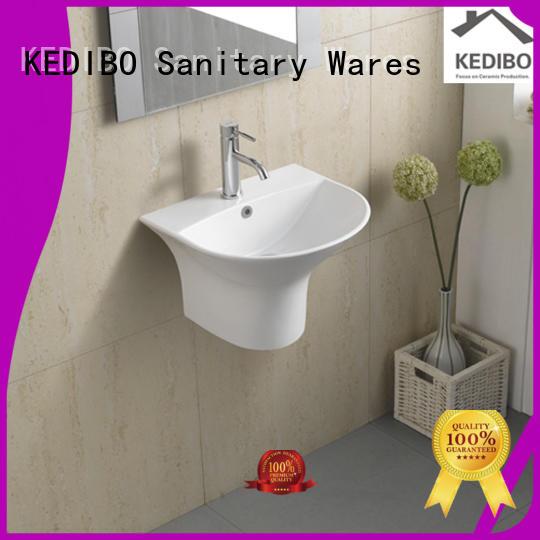 KEDIBO Brand resistant wall hung wash basin different supplier
