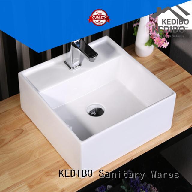 Custom round art basin top KEDIBO