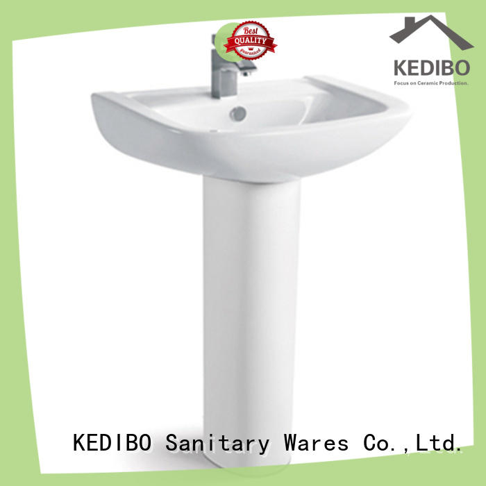 KEDIBO round pedestal basin free design for school