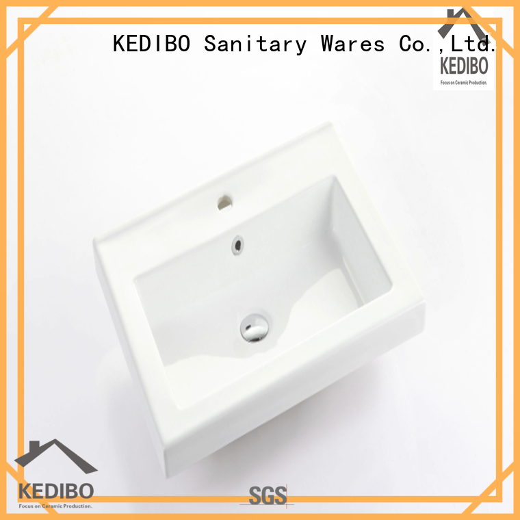 KEDIBO vanity wash basin with cabinet wholesale for washroom