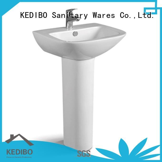 550x470 Rectangle Bathroom/Outdoor Pedestal Basin 080B