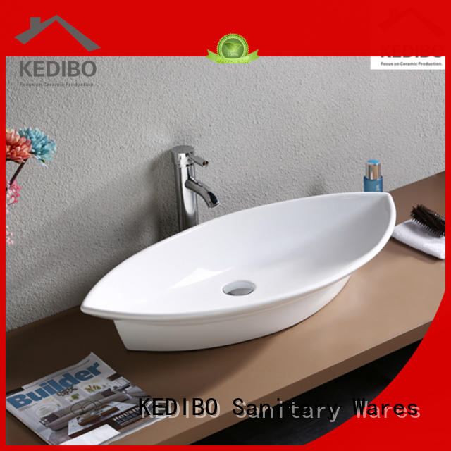 wash white art basin vanity KEDIBO Brand company