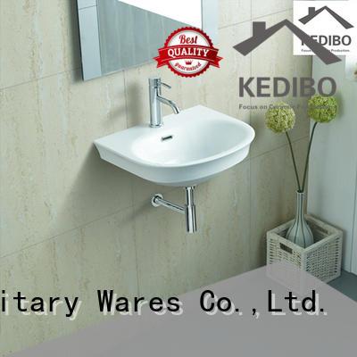KEDIBO sink wall mounted basin wholesale for official bathroom
