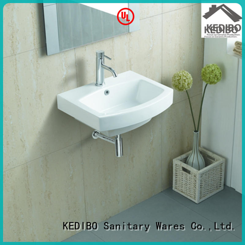 widely used wall mounted basin simple overseas market for official bathroom