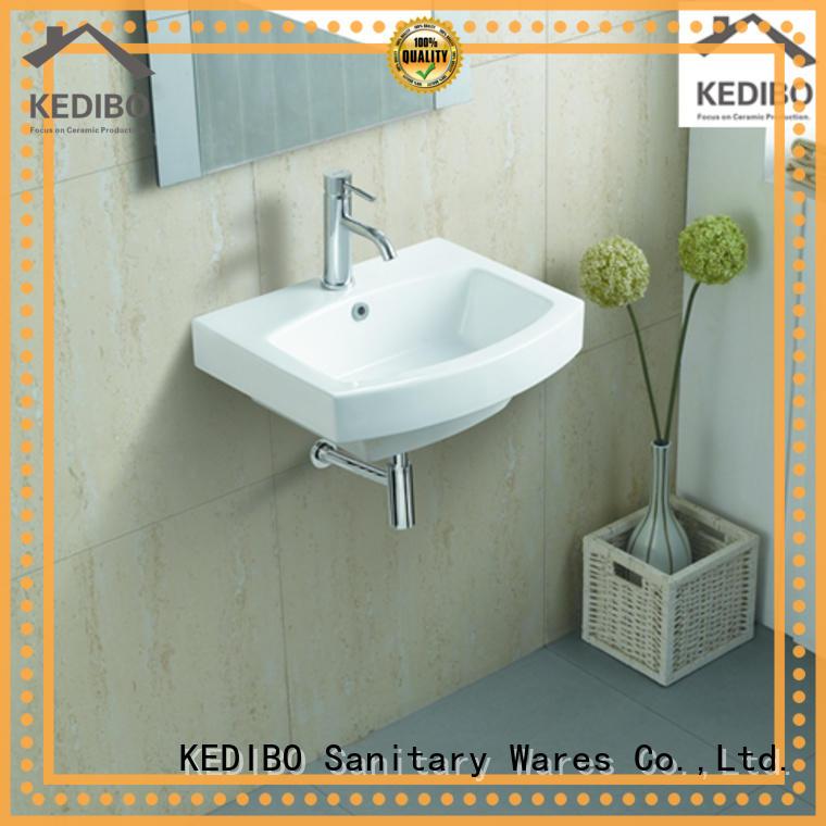 basin wall mounted wash basins supplier for commercial apartment KEDIBO
