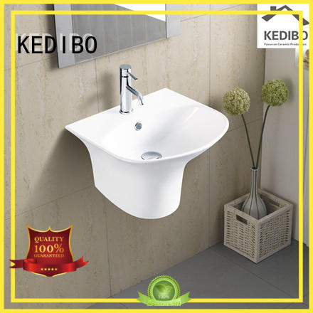resistant different wall hung wash basin KEDIBO manufacture