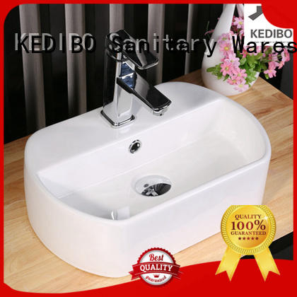 toilet wash basin design round thick art basin manufacture