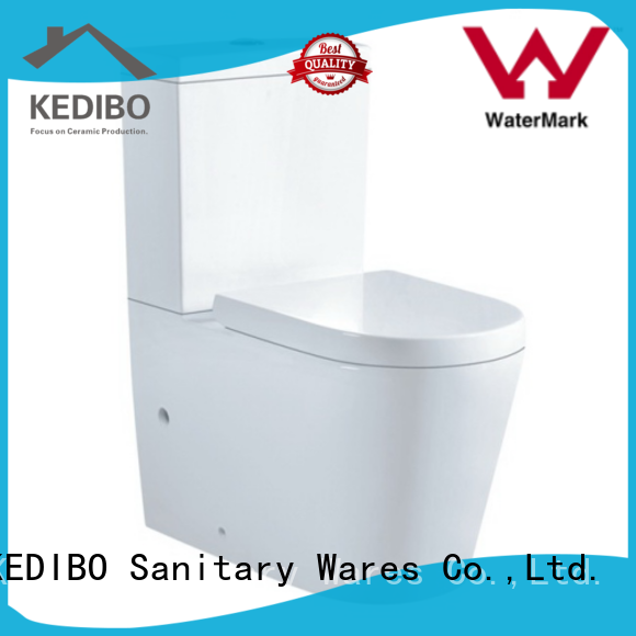 KEDIBO suite two piece toilet application for airport
