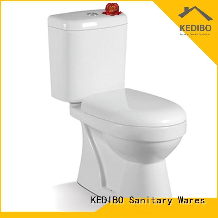 KEDIBO Brand twopiece wash down custom two-piece toilet