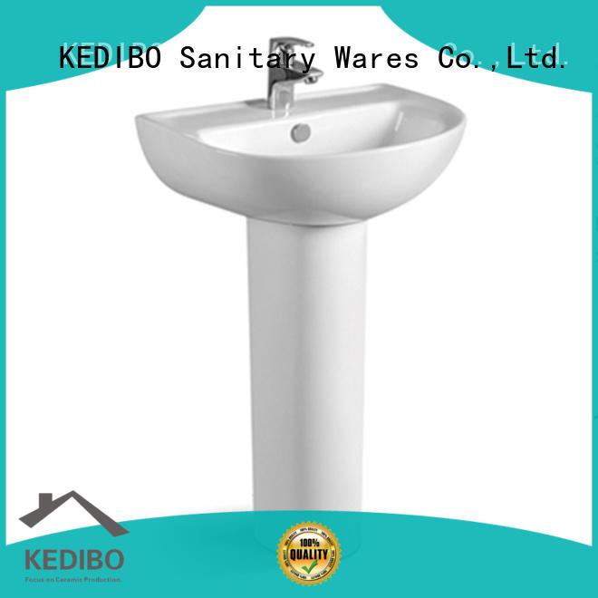 KEDIBO stylish pedestal basin at discount for outdoor basin