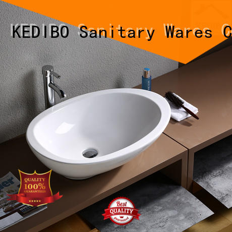 modern oval ceramic basin at discount for hotel