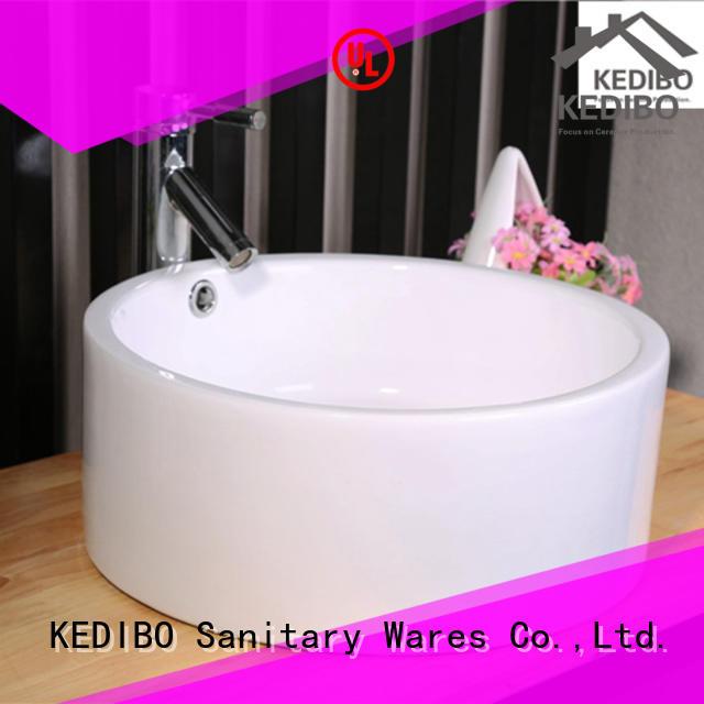 nice porcelain bathroom sink OEM ODM for hotel KEDIBO