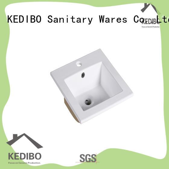 basin wash basin with cabinet factory price for washroom KEDIBO