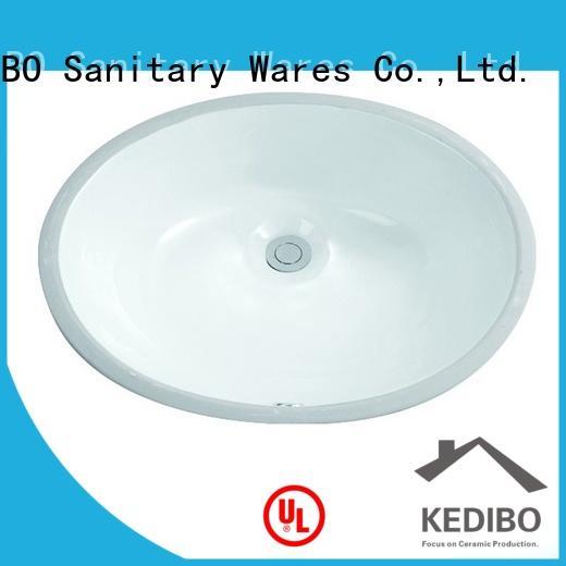 495x400 Oval Bathroom Drop In Ceramic Basin Sink 2-2005