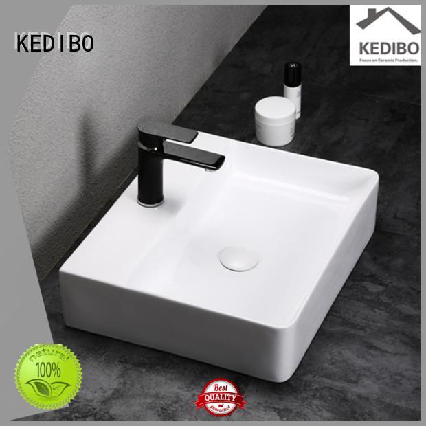 KEDIBO Brand water porcelain custom toilet wash basin design
