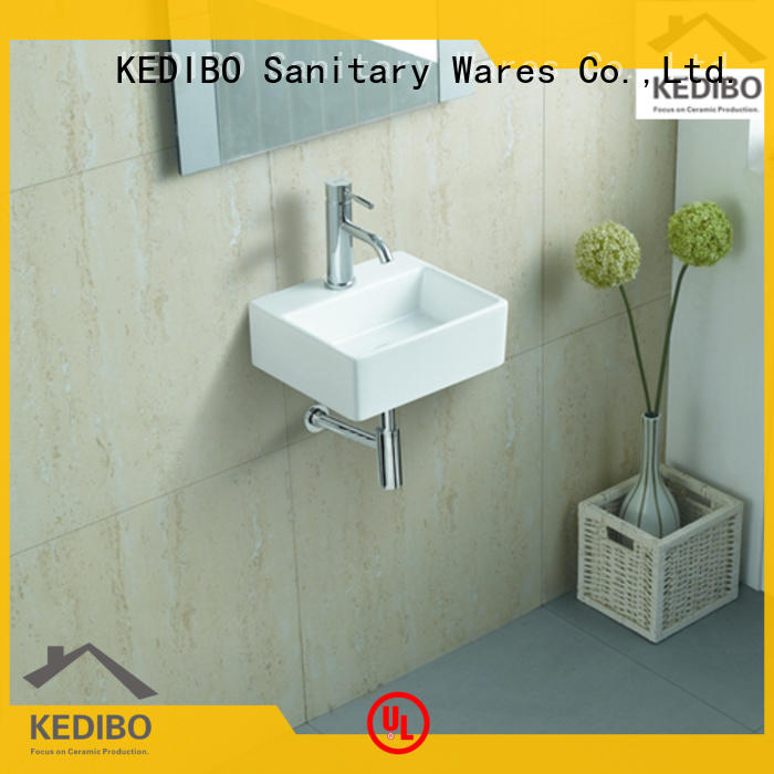 wall hung basin hand factory price for commercial hotel