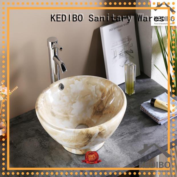 Quality KEDIBO Brand vanity oval art basin