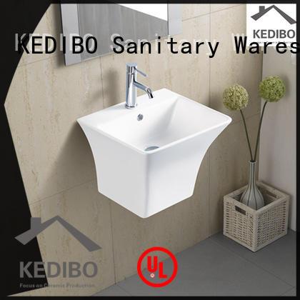 pratical wall hung wash basin marketing for official bathroom KEDIBO