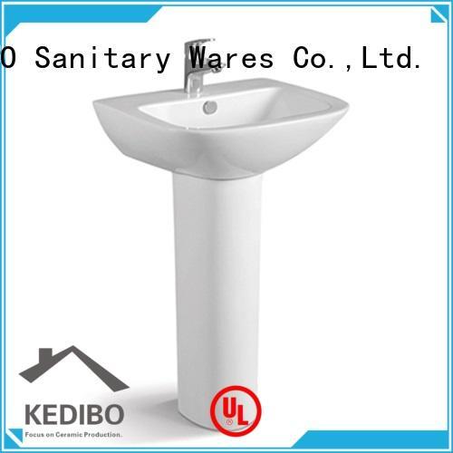 KEDIBO pedestal pedestal wash basin manufacturer for airport