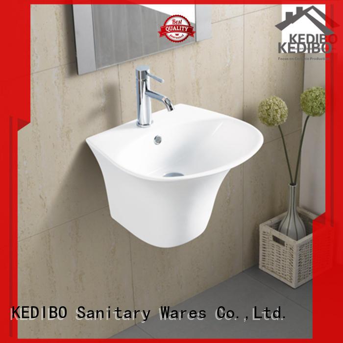 KEDIBO classical design wall hung basin bulk production for bathroom