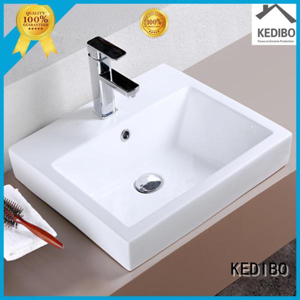 KEDIBO Brand capacity thick vanity toilet wash basin design wash